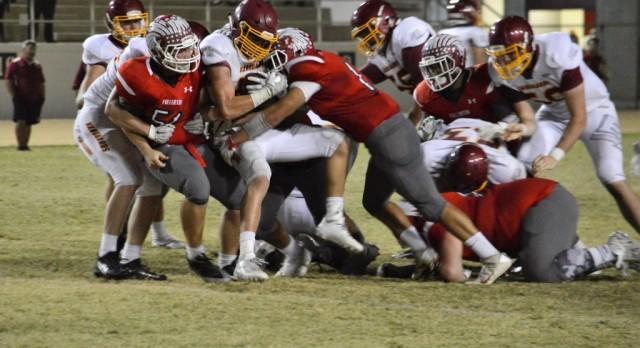 Varsity Football Beats Dana Hills