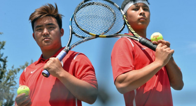 Fullerton High School Boys Varsity Tennis beat Sonora High School 12-6