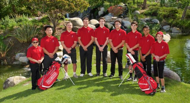 Fullerton High School Boys Varsity Golf falls to Sonora High School 219-240