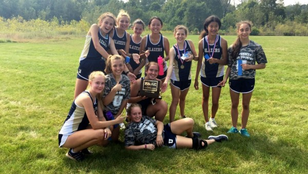 Cross Country Conference Champions