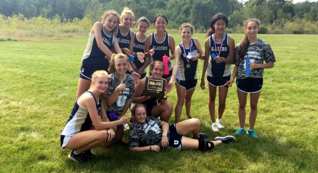 Girls Cross Country Team Rallies to Win Conference