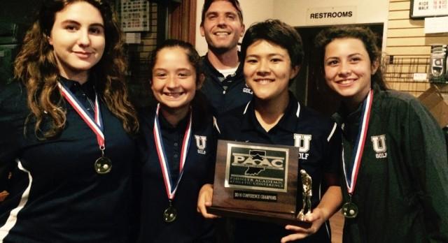 Girls Golf Team Wins Conference Championship
