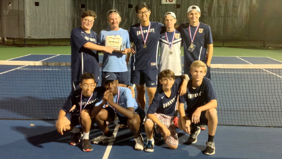 Boys Tennis Team Wins Conference Tournament