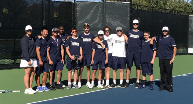 Boys Tennis Team Takes 2nd in Conference