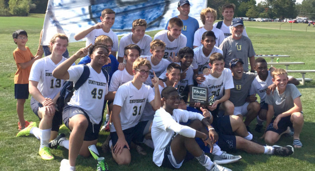 Boys Soccer Team Wins Conference Tournament