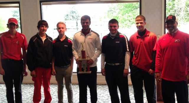 Huron Golfers Dual County Champs