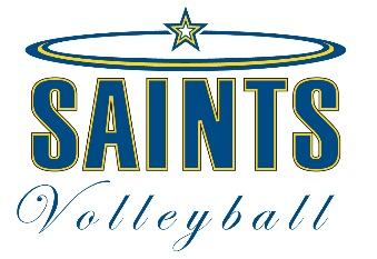 Saints Volleyball Camp 2017