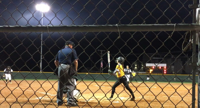 """Freshman Softball Player Lourdes Bacon Named """"Player Of The Week"""""""
