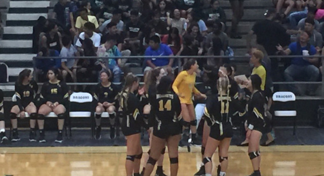 East Central High School Girls Varsity Volleyball beat Southwest 3-0