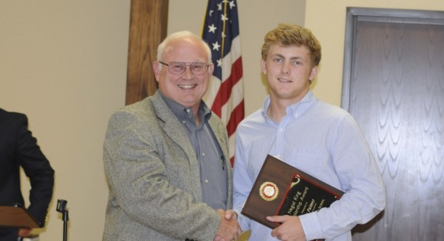 Negial King Scholarship Winner: Cole Palmer