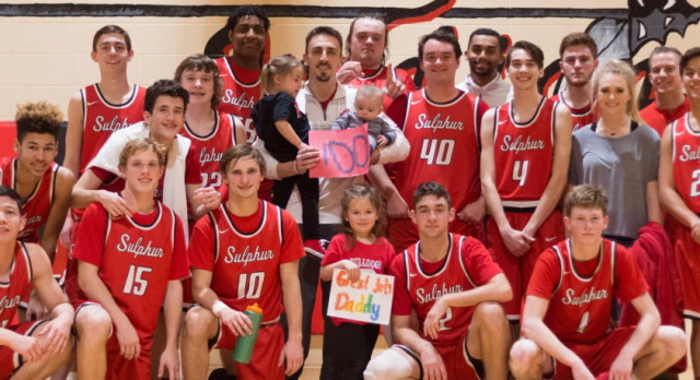 Coach Chase Todd gets 100th Career Win