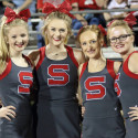 Cheer at Pauls Valley game
