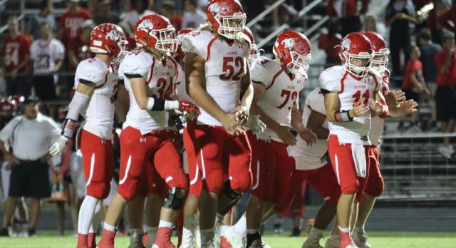 Sulphur High School Varsity Football beat Plainview High School 35-12