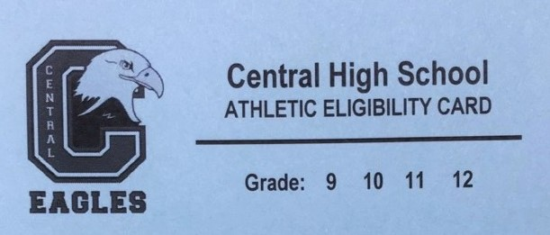 Athletic Eligibility Cards