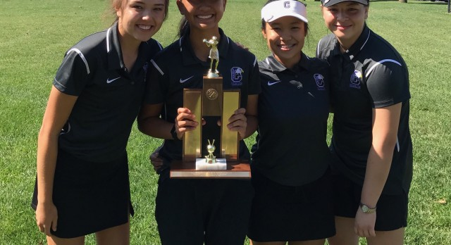 Omaha Central High School Girls Varsity Golf finishes 1st place
