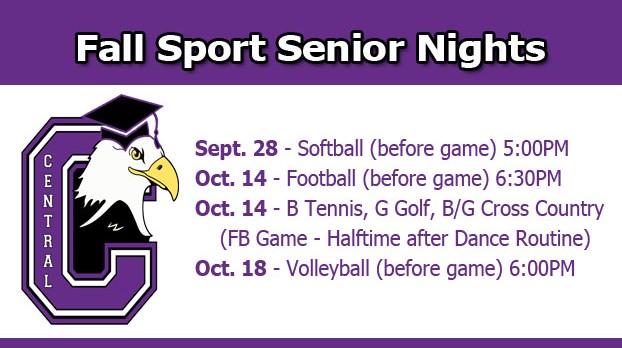 Fall Senior Nights