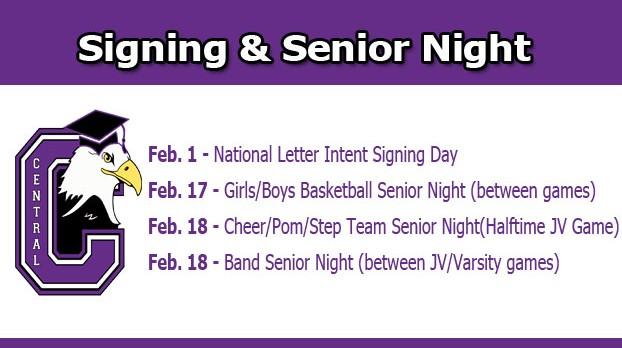 Winter Sport Senior Nights