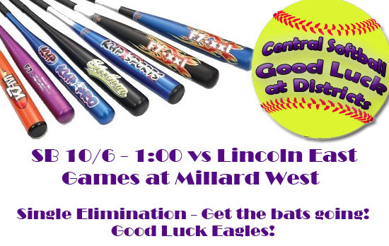 SB Districts 1:00 pm Today – Single Elimination