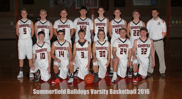 2016 Varsity Boys Basketball