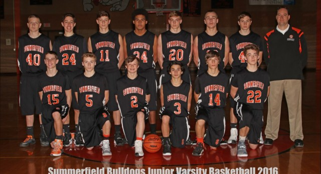 2016 JV Boys Basketball