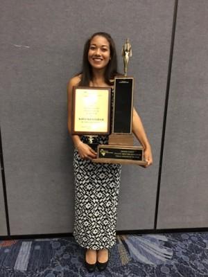 Kaiya McCullough OC Female Athlete of the Year