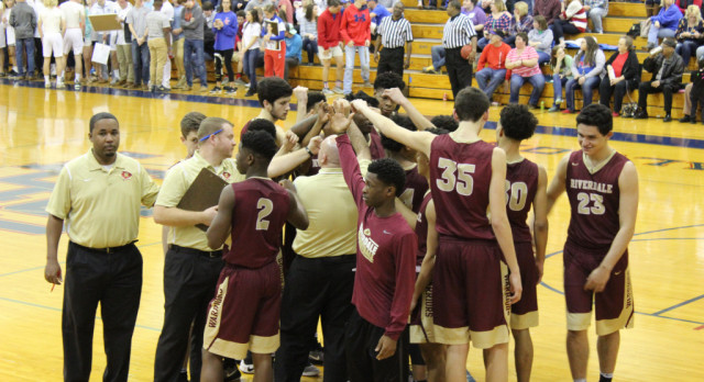 Riverdale High School Boys Varsity Basketball beat Lincoln County High School 55-37