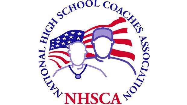 Coach Coffman NHSCA Coach of the Year