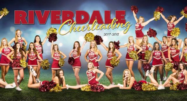 Cheerleaders for 2017-2018