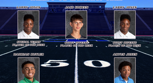 Blue Jay Football Players of the Week for Gateway Tech
