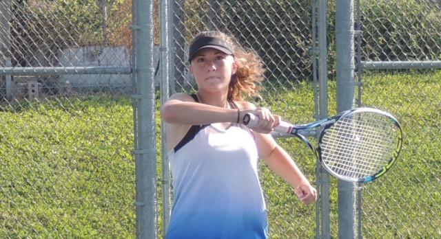 Lady Jay Tennis Travels to Salina