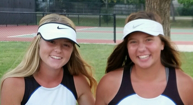 Post/Dombrowski Finish 4th at League Tennis
