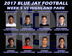 Week 5 vs Highland Park