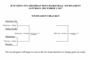 Freshmen Basketball Tournament