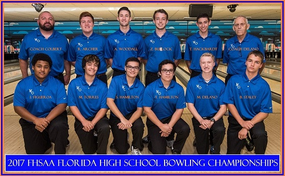 West Orange Boys Bowling team qualifies for the FHSAA Florida High School Bowling Championships!