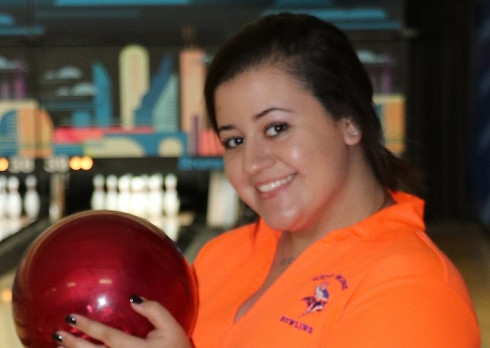 Kristyn Burbano qualifies for the FHSAA Florida High School Bowling Championships!