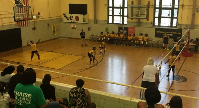 Middle School Lady Warriors defeated O. H. Perry