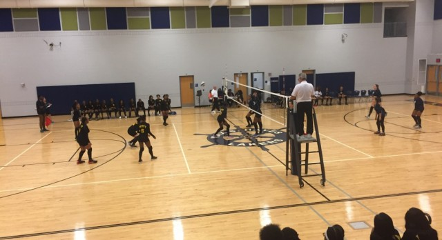 Our Junior Varsity Volleyball Team Defeated The Lakers