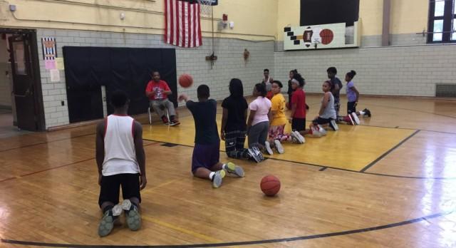 Middle School Girls Basketball Play-offs
