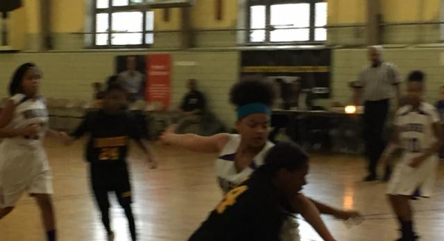 Middle School Lady Warriors vs. Warner