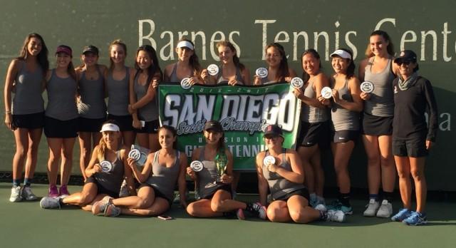 Tennis CIF Champions
