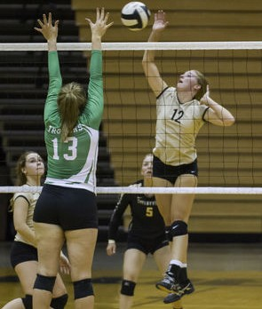 Volleyball a Family Affair at Shelbyville, Waldron