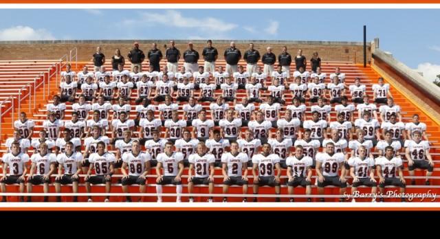 Varsity/Junior Varsity Football Team Picture 2016