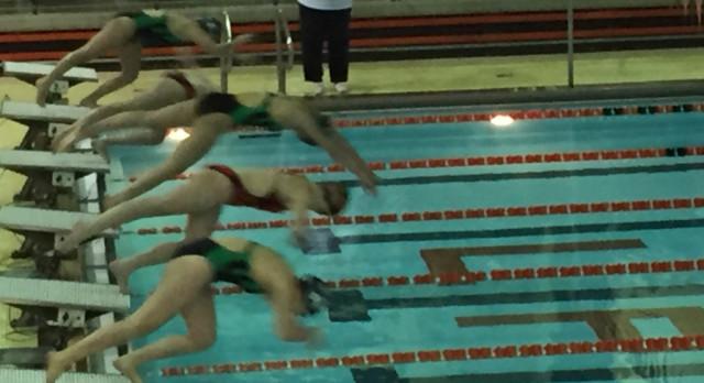 LaPorte High School Girls Varsity Swimming falls to Valparaiso High School 122-63