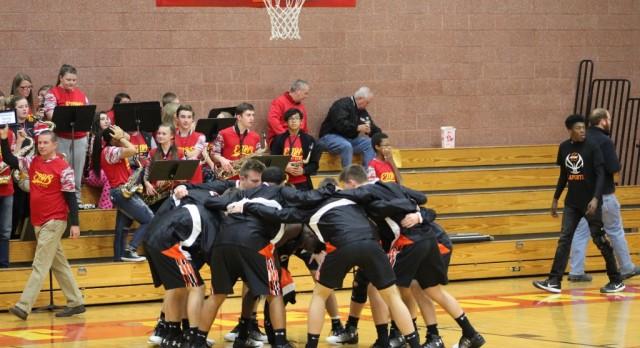 LaPorte High School Boys Varsity Basketball beat Michigan City High School 58-53