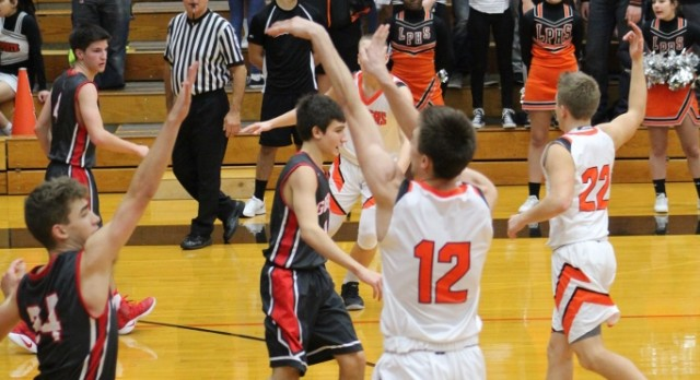 LaPorte High School Boys Varsity Basketball beat Portage High School 49-47