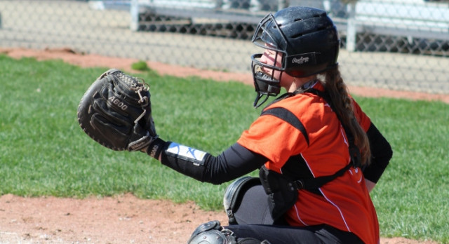LaPorte High School Varsity Softball beat Elkhart Memorial High School 14-1