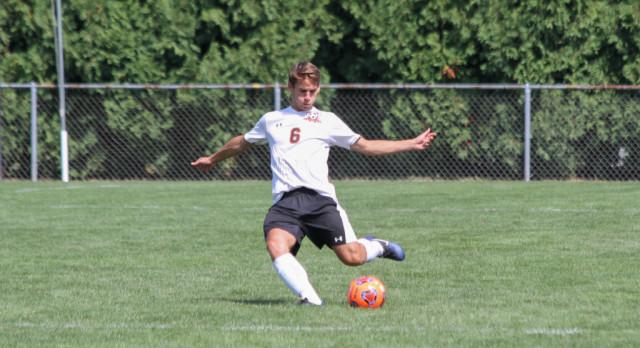 LaPorte High School Boys Varsity Soccer falls to Crown Point High School 4-2