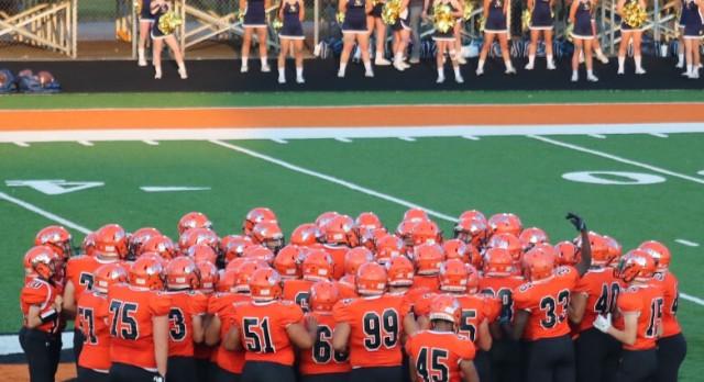 LaPorte High School Varsity Football beat Portage High School 36-33
