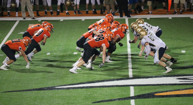LaPorte High School Varsity Football beat New Prairie High School 41-12