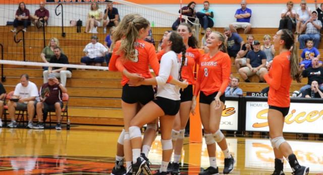 LaPorte High School Girls Varsity Volleyball Wins the LaPorte Invitational